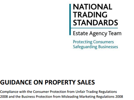 Guidance on Property Sales – Estate Agents Code of Practice?