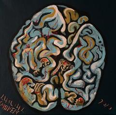 Brain top view