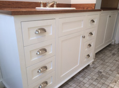 Bathroom remodel done by: Kevin Forand (KMForand Inc.)