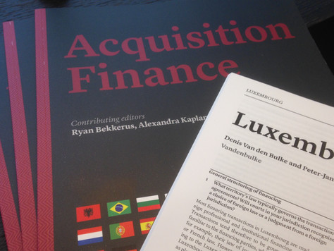 Latest trends in Luxembourg Acquisition Finance