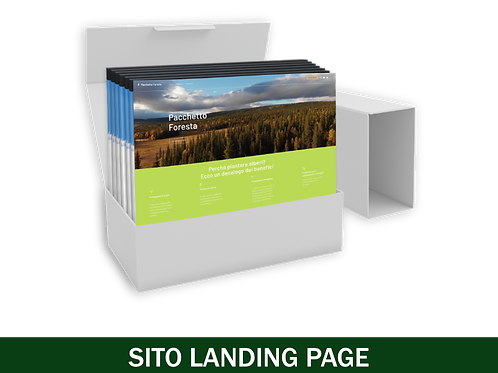 Sito Landing Page 123Web - Pacchetto Completo
