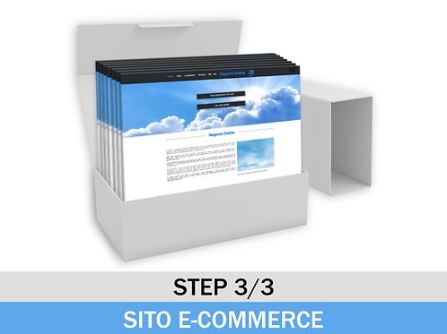 Sito E-commerce 123Web - Pacchetto Rateizzato Step 3/3
