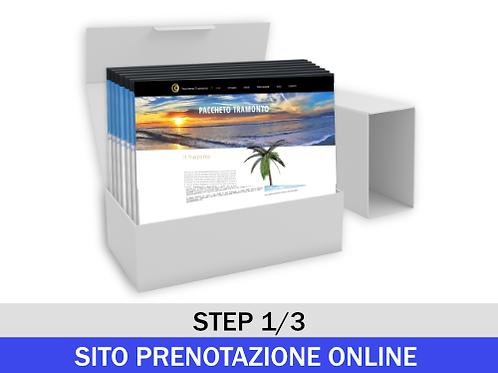 Sito Booking 123Web - Pacchetto Rateizzato Step 1/3