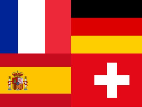 La Focaccia è adesso disponibile in Germania, Francia, Spagna e Svizzera!