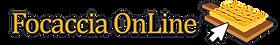 Logo di Focaccia OnLine, gustoso come le foccacce che vendiamo e recapitiamo a domicilio