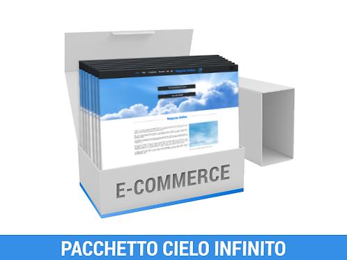Sito e-commerce - Pacchetto CIELO INFINITO