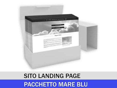 Sito Landing page - Pacchetto MARE BLU