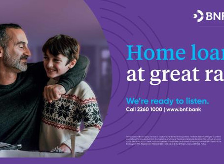 BNF Bank extends and enhances its attractive home loan offer