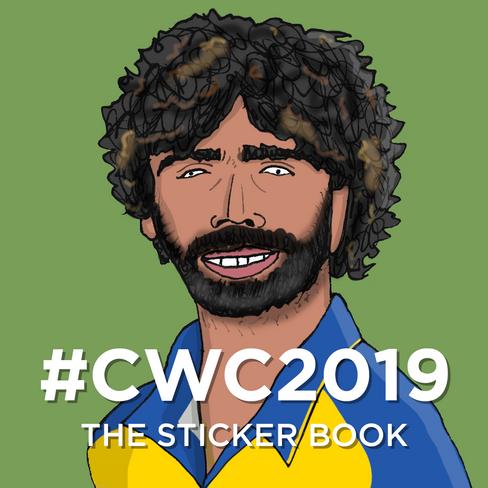 #CWC2019 The Sticker Book