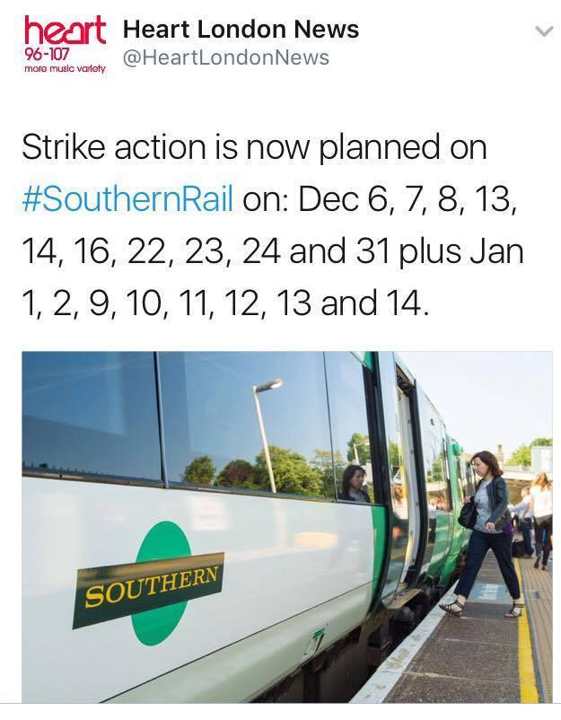 More Strike Dates