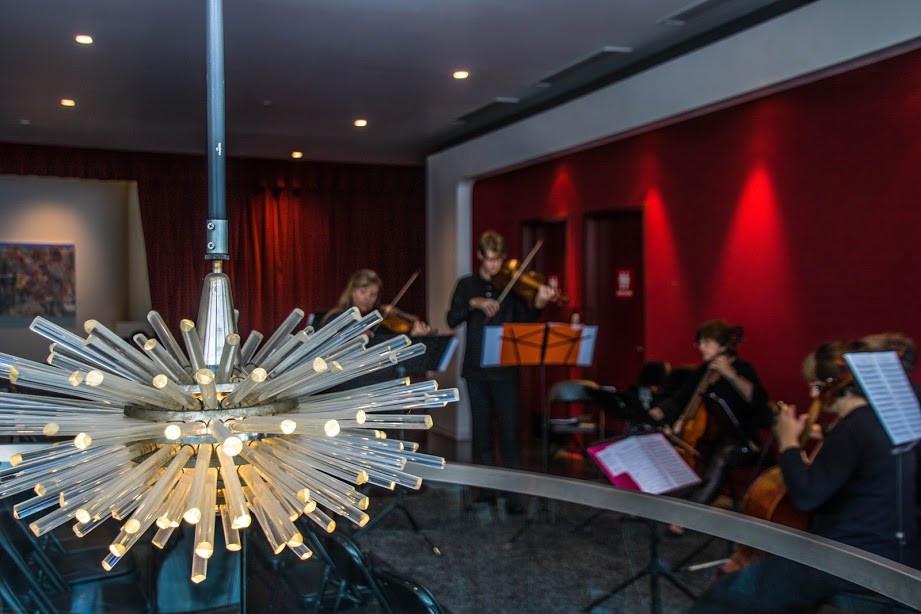 Laemmle Live, Santa Monica LAB plays Bach September 2017