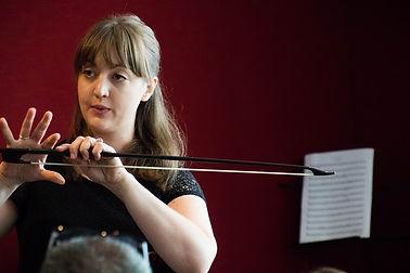 Alexa Haynes-Pilon, Baroque cello & Artistic Director, Los Angeles Baroque