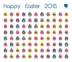Happy Easter web card