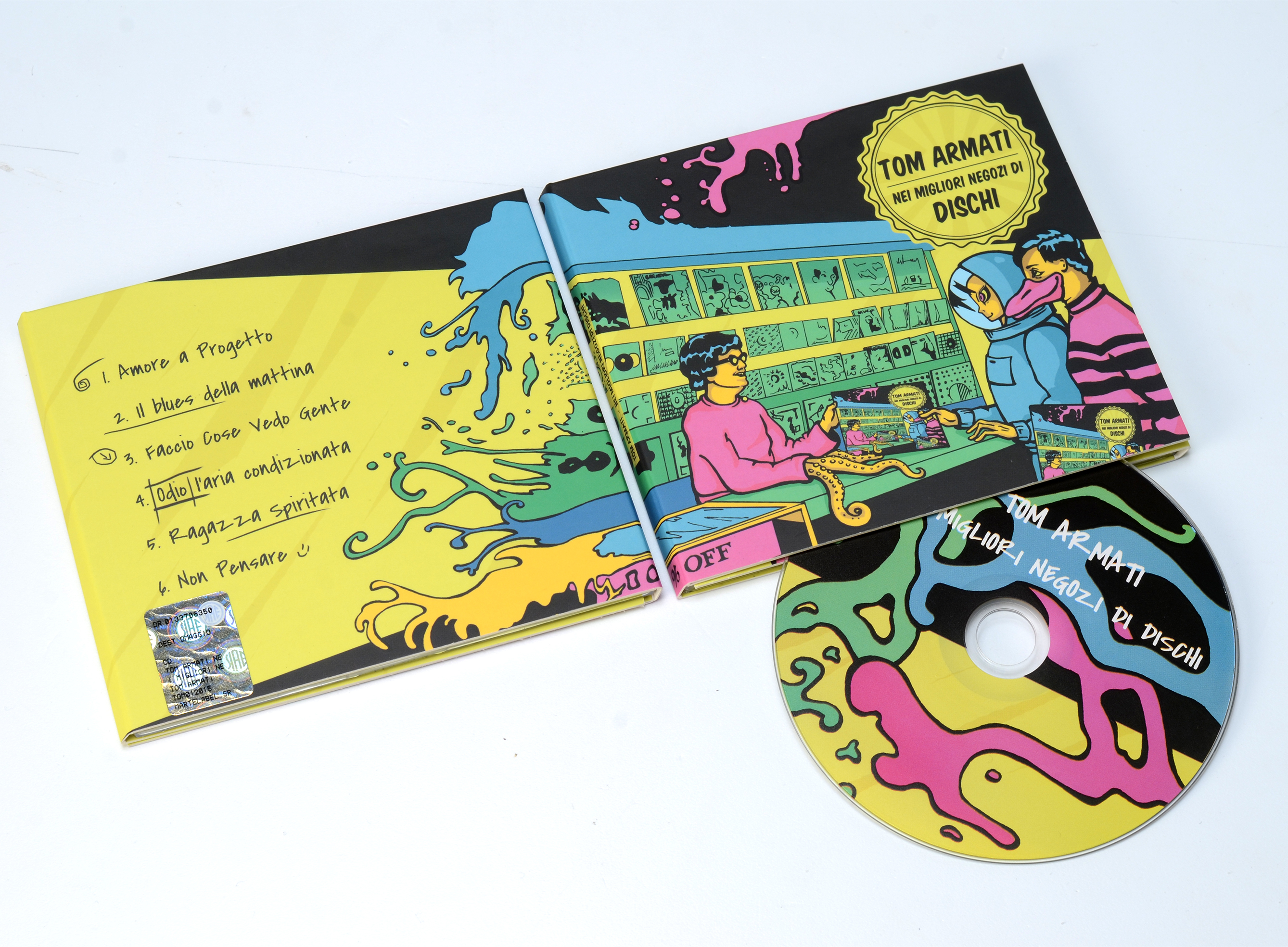 CD cover illustration