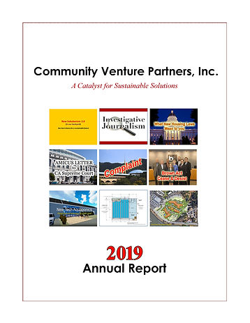 CVP 2019 Annual Report Front Cover Image