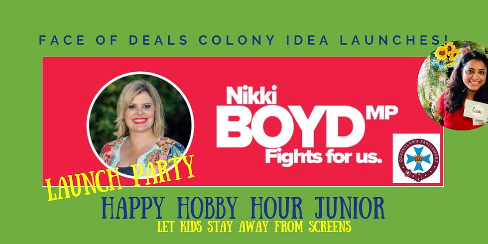 HAPPY HOBBY HOUR JUNIOR  LAUNCH PARTY!!!