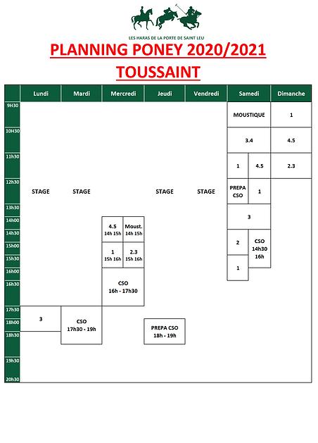planning PONEY 2020-2021_Toussaint_v1.pn