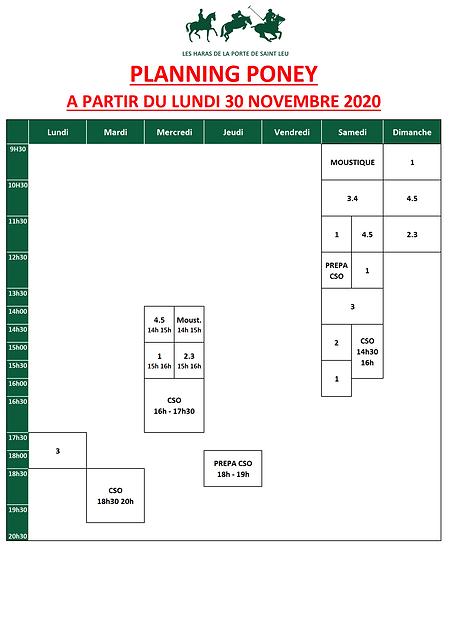 planning PONEY 2020-2021_Confinement_v1.