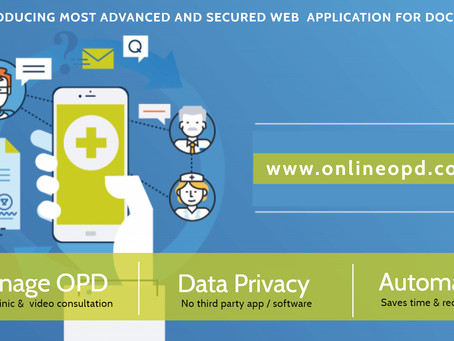 Start your ONLINE OPD now .