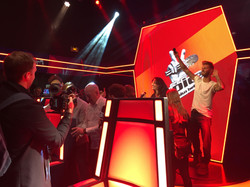 stage THE VOICE at GREVIN