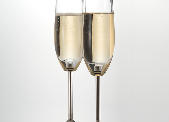 Hand-blown Champagne Flute