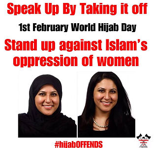 World Hijab Day Take it off the hojab offends
