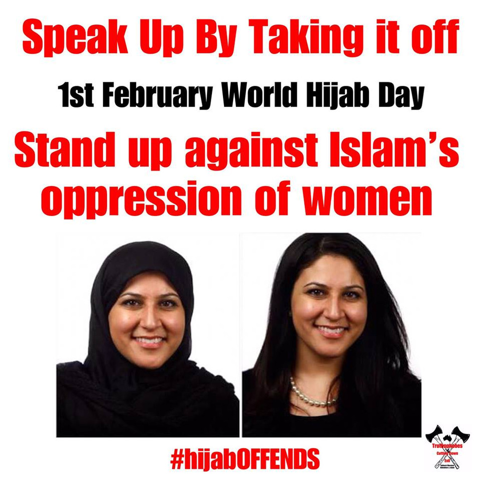 World NO Hijab Day