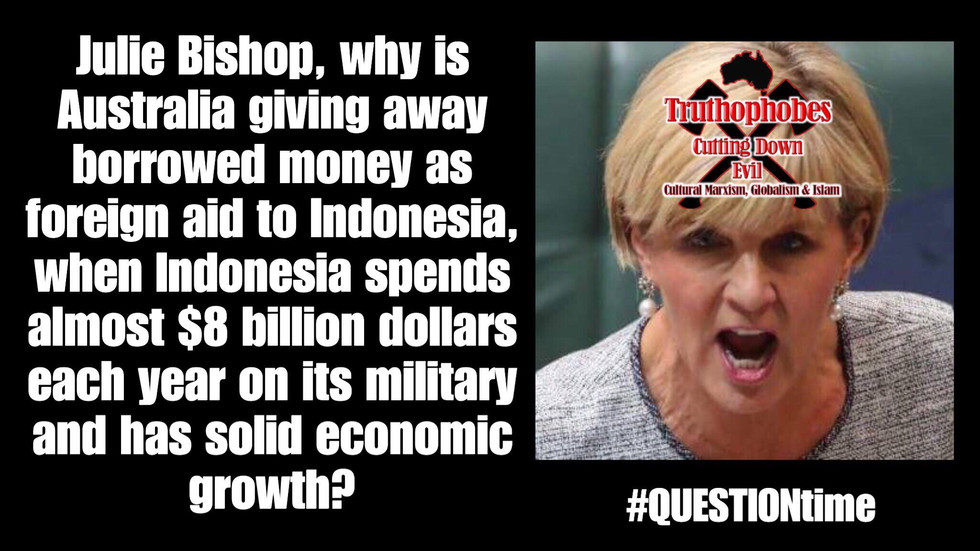 #QUESTIONtime on Indonesian Foreign Aid