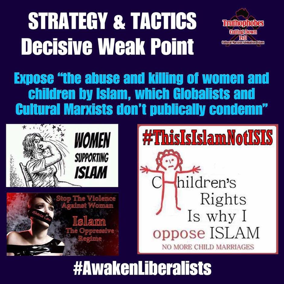 Awaken to Islams abuse of Women and children