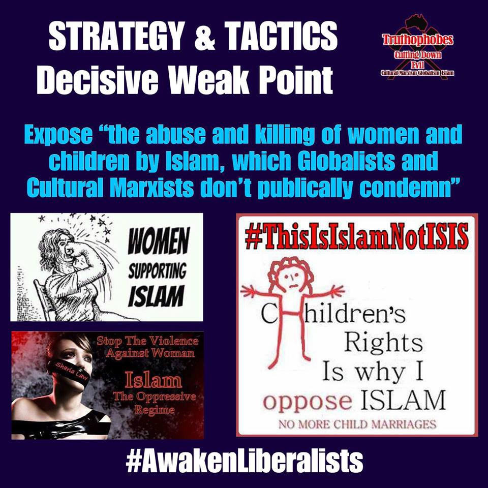 Awaken to Islams abuse of Women and children