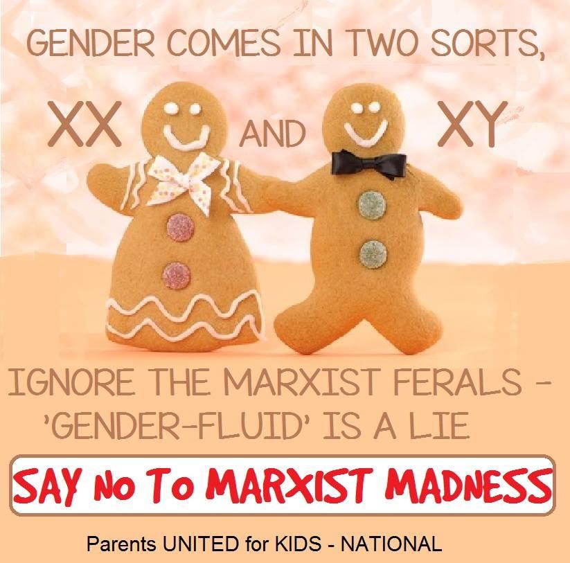 Gender Fluid is aMarxist lie