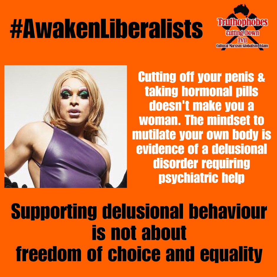 Transexuality is a Delusional Disorder