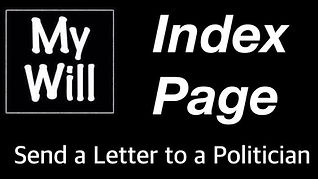 My Will Letter Index