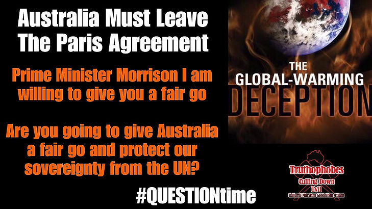 Leave the Paris Agreement