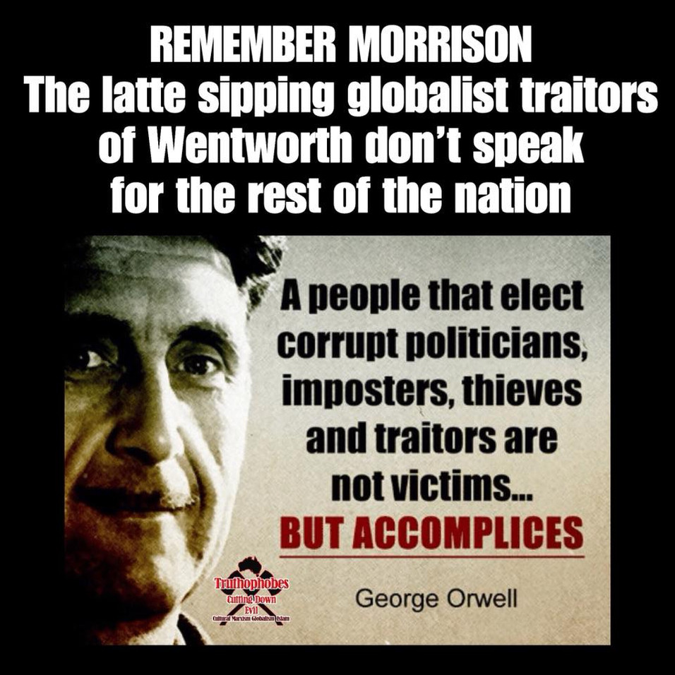 The traitors of Wentworth must not dictate future government policy