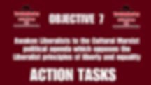 Objective 7 Action Tasks