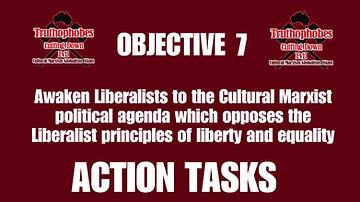 Objective 7 Action Tasks