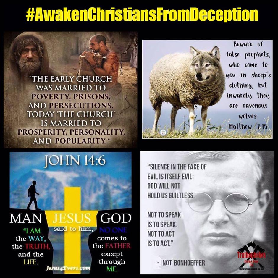 #AwakenChristiansFromDeception