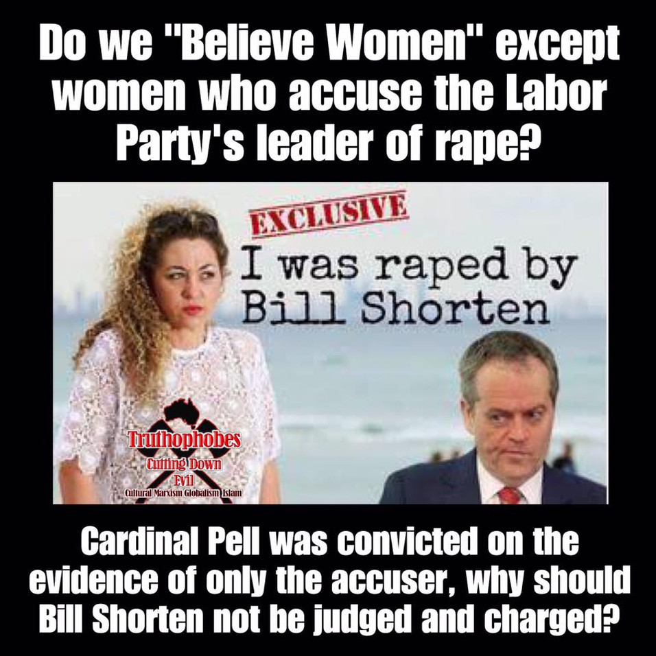 Bill Shorten Was Accused of Rape