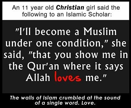 The muslim vs christian world in