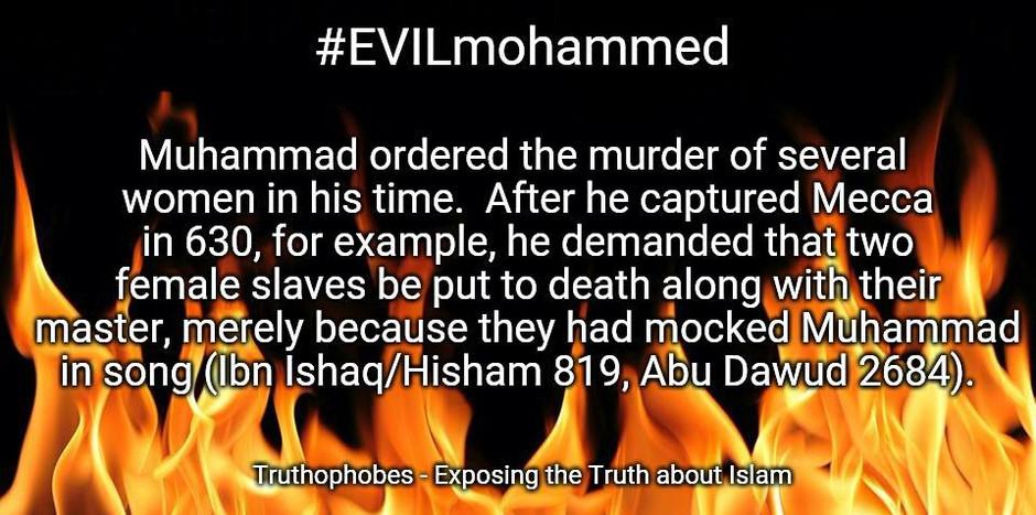Mohammed was a Murderer