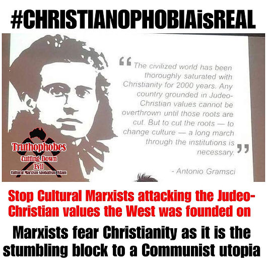 #CHRISTIANOPHOBIAisREAL