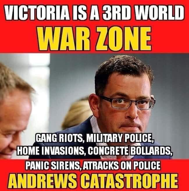 Victoria Is A 3rd World War Zone