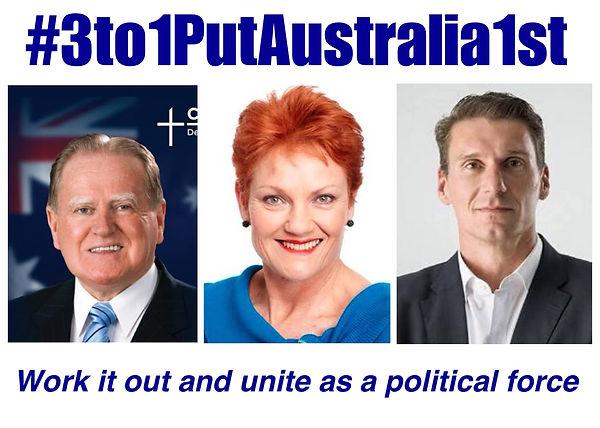 #3to1PutAustralia1st