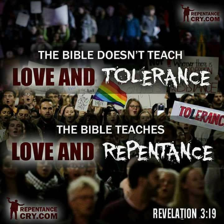 The Bible Teaches Love and Repentance