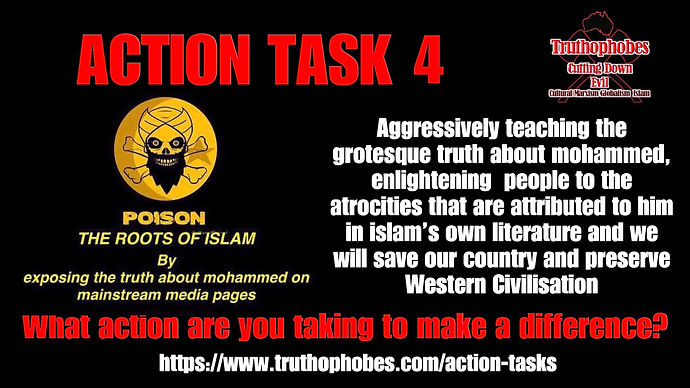 Expose mohammed on mainstream media pages