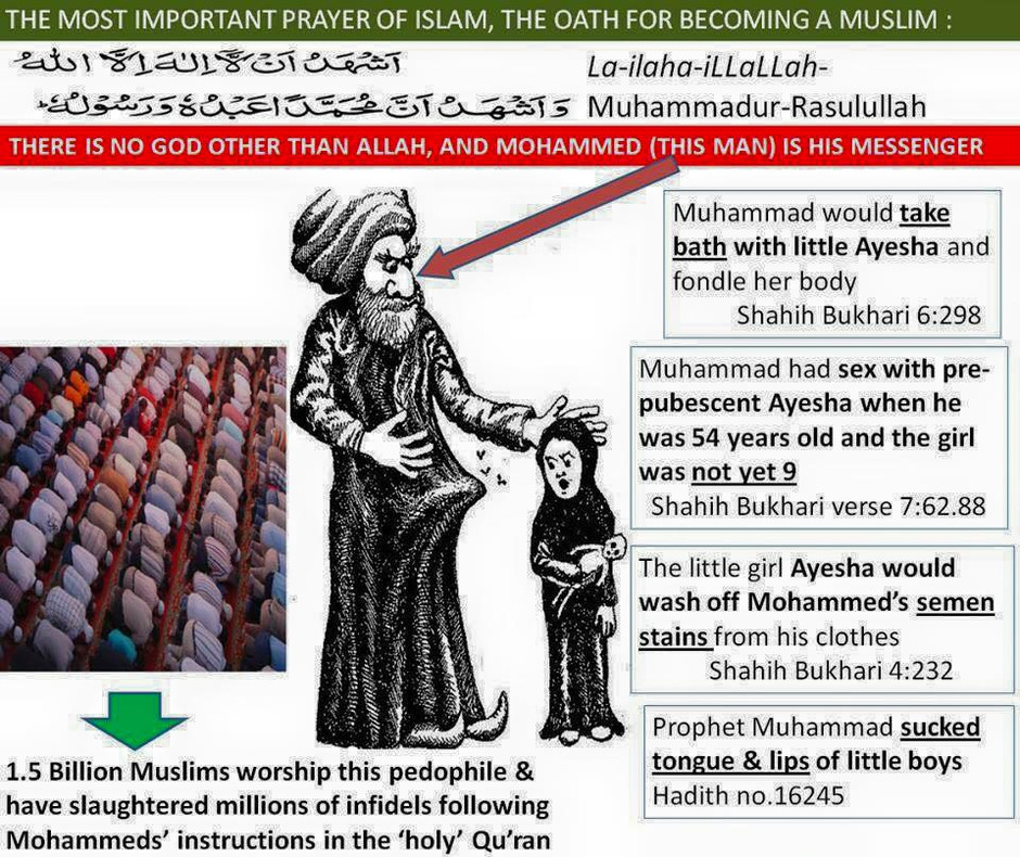 mohammed Was A PAEDOPHILE