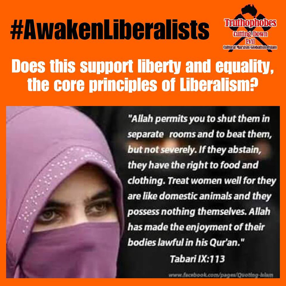 How Can Libealists Ignore Islams Abuse of Woman