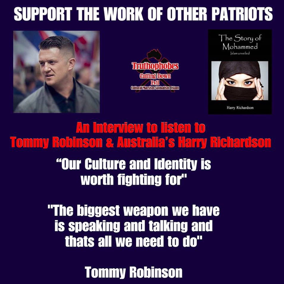 Tommy Robinson Interview
