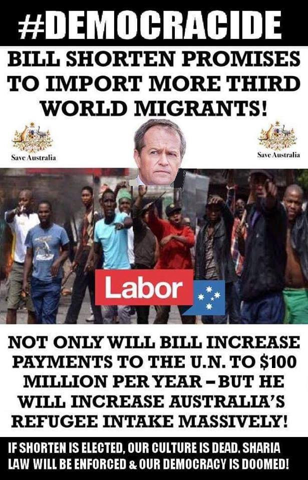 Vote 1 Labor if you want to quickly destroy Australia